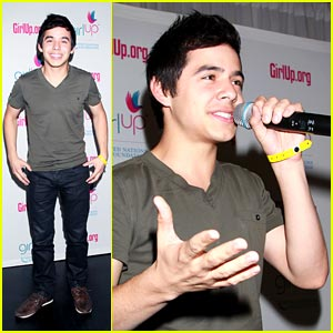 David Archuleta: Girl Up Pep Rally!