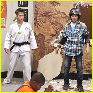 Jason Earles & Leo Howard are Wasabi Warriors