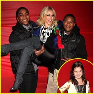 Kyle Massey & Bailee Madison: Hollywood Christmas Parade!