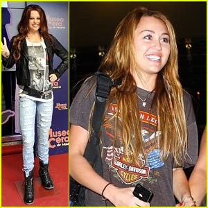 Miley Cyrus is Switzerland Smiley