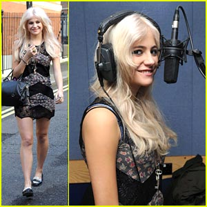 Pixie Lott: Help For Heroes Day!