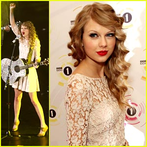 Taylor Swift: BBC Teen Awards 2010!
