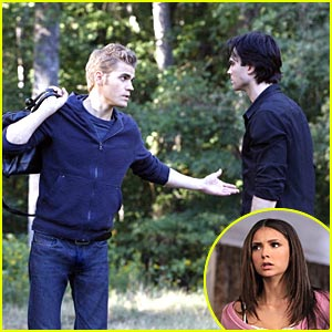 Paul Wesley & Nina Dobrev: Every Rose Has A Thorn