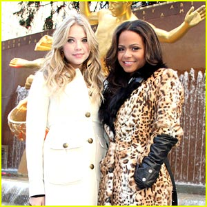 Ashley Benson & Christina Milian: Winter Wonderland Women