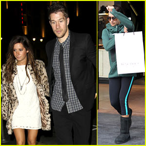 Ashley Tisdale: Katsuya Dinner Date with Scott Speer!