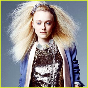 Dakota Fanning: New IMG Model!