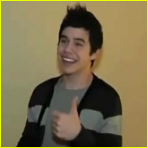 David Archuleta: Never Been Kissed!