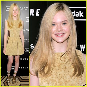 Elle Fanning: 'Somewhere's Golden Girl