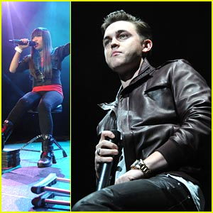 Jesse McCartney & Charice Jingle in Jersey