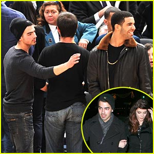 Joe Jonas: Let's Go Knicks!