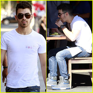 Joe Jonas: Let's Do Lunch!
