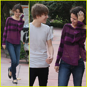 Justin Bieber &#038; Selena Gomez: Miami Mates