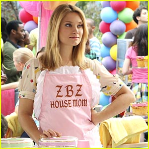 Spencer Grammer: ZBZ's House Mom!