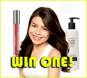 Win Miranda Cosgrove's Neutrogena Holiday Collection!