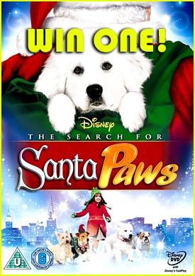 Win 'The Search For Santa Paws' DVD -- SIGNED by Madison Pettis!