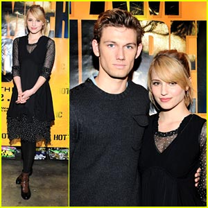 Alex Pettyfer Girlfriend Dianna Agron