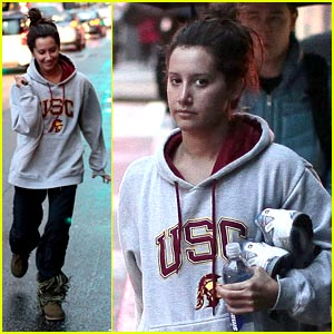 Ashley Tisdale: Gym Time in Vancouver