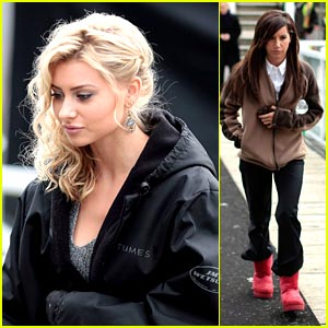 Ashley Tisdale: Fire on 'Hellcats' Set!