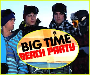 Big Time Rush: Beach Party in February on Nick!