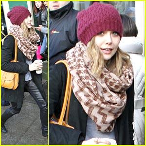 Elizabeth Olsen Leaves Fashion to Mary-Kate & Ashley