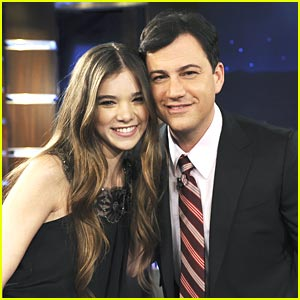 Hailee Steinfeld: Jimmy Kimmel Cutie