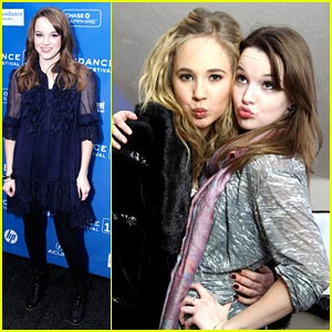 Kay Panabaker & Juno Temple: Sundance 'Little Birds'