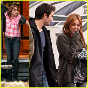Miley Cyrus &#038; Joshua Bowman are 'So Undercover'