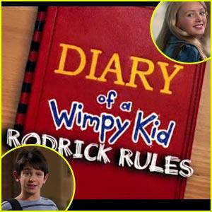 Zachary Gordon & Peyton List: 'Diary of A Wimpy Kid 2' Teaser!