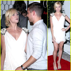 Zac Efron & Brittany Snow: Audi Golden Globe Party!
