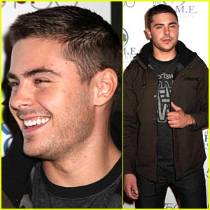 Zac Efron: Video Game Challenge For Charity