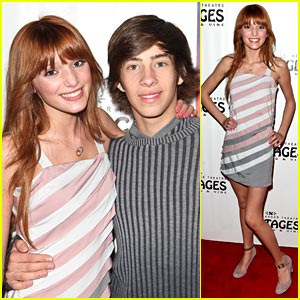 Bella Thorne: 'Rock of Ages' with Jimmy Bennett!