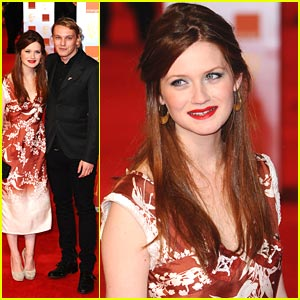Bonnie Wright & Jamie Campbell-Bower: BAFTA Awards 2011