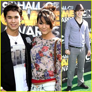 Booboo Stewart & Cody Linley are Hall of Gamers