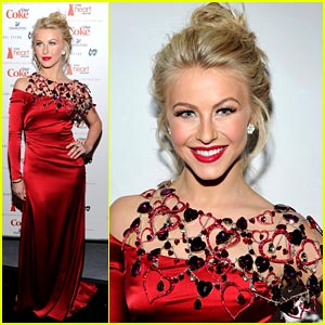 Julianne Hough: Heart Truth Red Dress Collection 2011!