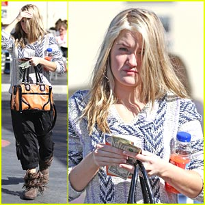 AJ Michalka: Car Wash Cutie