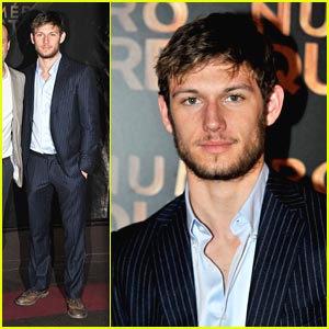 Alex Pettyfer: Number Four Spotted in Paris!