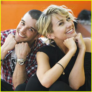 Chelsea Kane &#038; Mark Ballas: DWTS Rehearsals!