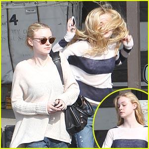 Dakota & Elle Fanning: Co-Starring in Shaggs Movie?