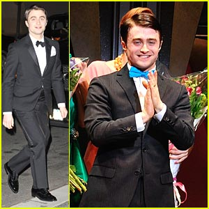 Daniel Radcliffe: How To Succeed Opening Night!