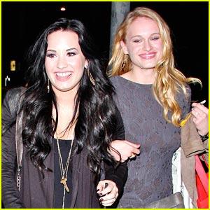 Demi Lovato & Leven Rambin: Dan Tana's Twosome