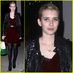 Emma Roberts Makes It To Madeo