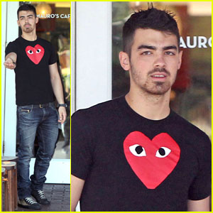 Joe Jonas: 'Eye' See You!