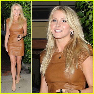 Julianne Hough Dines A While 'Ago'