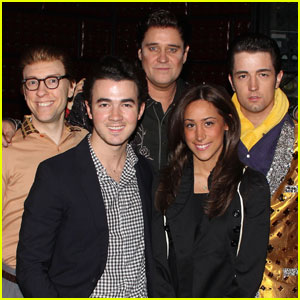 Kevin Jonas: Million Dollar Quartet with Danielle!