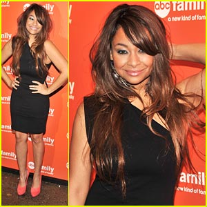 Raven Symone: ABC Family Upfronts!
