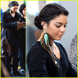 Vanessa Hudgens Takes Flight with Feathers