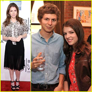 Anna Kendrick: Tribeca Juror Welcome Lunch with Michael Cera