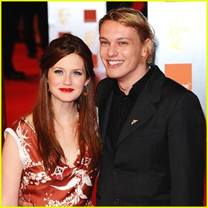 Bonnie Wright & Jamie Campbell Bower ARE Engaged!