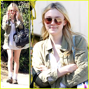 Dakota Fanning: No Graduation Jitters Here!