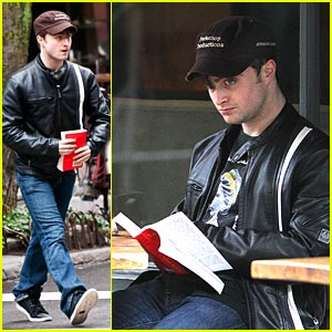 Daniel Radcliffe: West Village Lunch Break